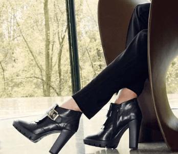 Trend inverno 2017: le scarpe con tacco largo